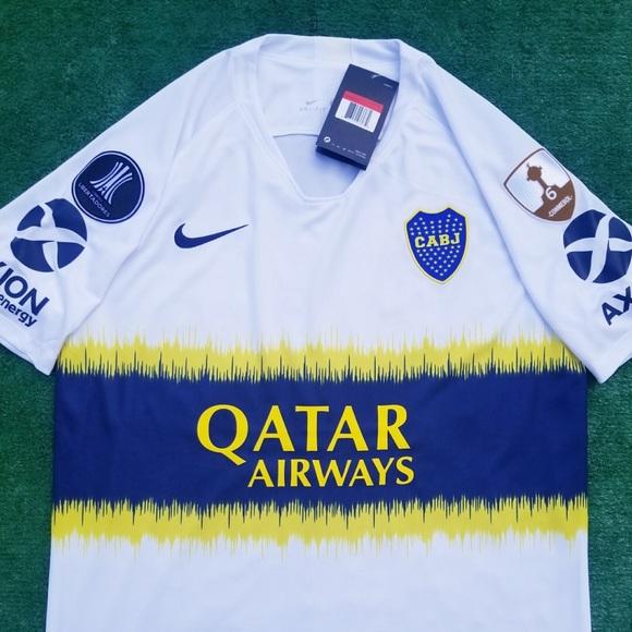 5a87bc12c Nike Shirts   2018 Boca Juniors Away Soccer Jersey Tevez   Poshmark